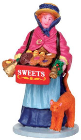 42254 - Sweet Seller  - Lemax Christmas Village Figurines