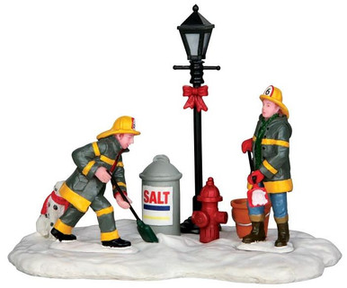 43071 - Emergency Snow Removal  - Lemax Christmas Village Table Pieces