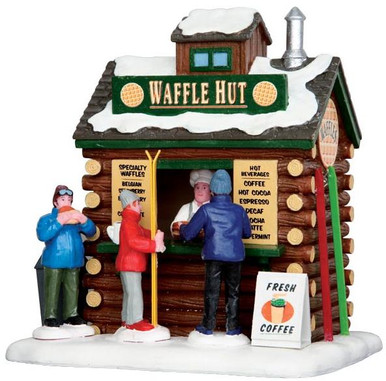 43074 - Waffle Hut  - Lemax Christmas Village Table Pieces