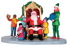 43077 - Merry Christmas to All  - Lemax Christmas Village Table Pieces