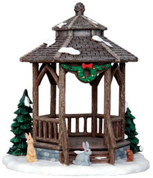 43084 - Winter Gazebo  - Lemax Christmas Village Table Pieces
