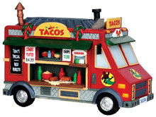 43086 - Taco Food Truck  - Lemax Christmas Village Table Pieces