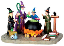 44747 - The Sorcerer's Apprentice, Battery-Operated (4.5-volt)  - Lemax Spooky Town Halloween Village Accessories