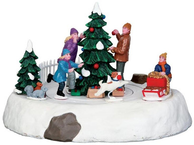 44772 - Rascal Rover, Battery-Operated (4.5v)  - Lemax Christmas Village Table Pieces