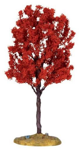 44801 - Bald Cypress Tree, Medium - Lemax Christmas Village Trees