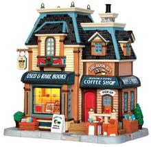 45685 - The Book Bin  - Lemax Caddington Village Christmas Houses & Buildings