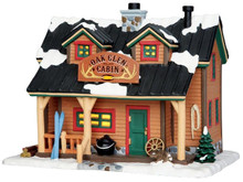 45693 - Oak Glen Cabin  - Lemax Vail Village Christmas Houses & Buildings