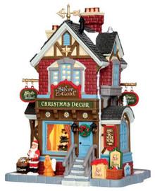 45699 - Silver & Gold Shop  - Lemax Caddington Village Christmas Houses & Buildings