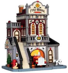 45702 - Fire House No. 12  - Lemax Caddington Village Christmas Houses & Buildings