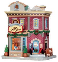 45704 - The Corner Coffee Shop  - Lemax Caddington Village Christmas Houses & Buildings