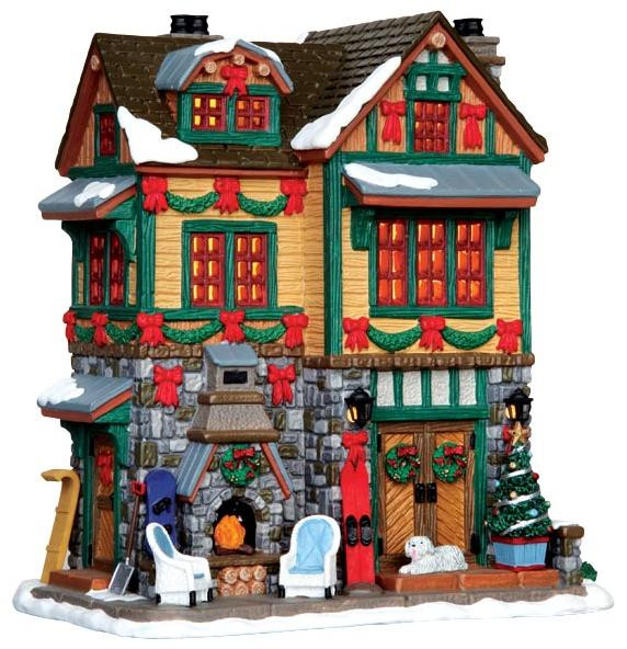 Christmas Houses Village.45718 The Brodie Residence Lemax Vail Village Christmas Houses Buildings