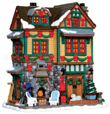 45718 - The Brodie Residence  - Lemax Vail Village Christmas Houses & Buildings