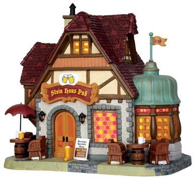 45723 - Stein Haus Pub  - Lemax Caddington Village Christmas Houses & Buildings