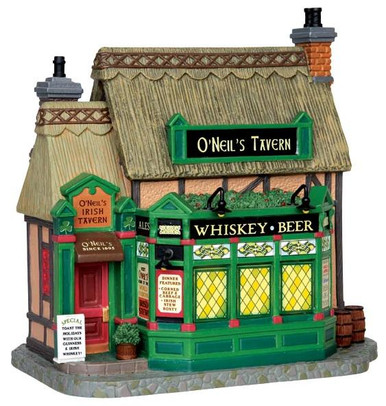 45724 - O'Neil's Irish Tavern  - Lemax Caddington Village Christmas Houses & Buildings