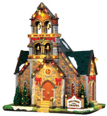 45729 - Hillside Bell Chapel, with 4.5v Adaptor  - Lemax Caddington Village Christmas Houses & Buildings