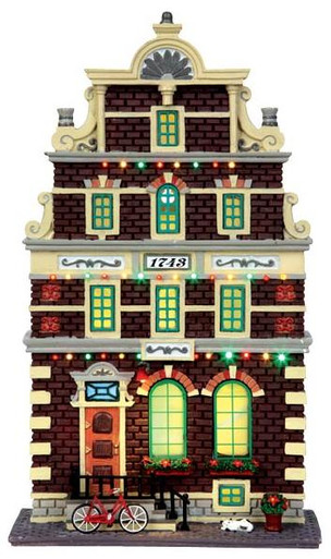 45731 - Mr. Van Halen, Battery-Operated (4.5v)  - Lemax Christmas Village Facades
