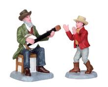 52322 - Grandpa's Banjo, Set of 2 - Lemax Christmas Figurines