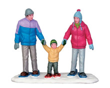 52336 - Snowshoe Family - Lemax Christmas Figurines