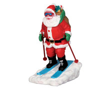 52337 - Santa Skier - Lemax Christmas Figurines