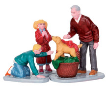 52348 - Surprise!, Set of 3 - Lemax Christmas Figurines