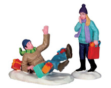 52360 - Shopping Date, Set of 2 - Lemax Christmas Figurines