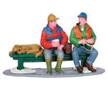 52362 - Hunting Season War Stories - Lemax Christmas Figurines