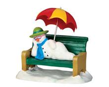 52367 - Snowman R&R - Lemax Christmas Figurines