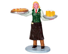 52372 - Service with a Smile - Lemax Christmas Figurines