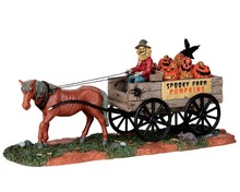 53203 - Pumpkin Wagon - Lemax Spooky Town Accessories