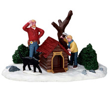 53218 - Construction Crew - Lemax Christmas Village Table Pieces