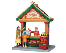53220 - Cookies from Mrs. Claus - Lemax Christmas Village Table Pieces