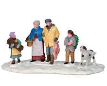 53229 - Rural Victorian Family - Lemax Christmas Village Table Pieces