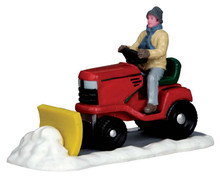 53236 - Ride-on Snowplow - Lemax Christmas Village Table Pieces