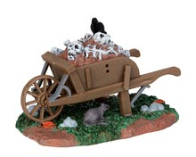 54906 - Scary Wheelbarrow - Lemax Spooky Town Accessories