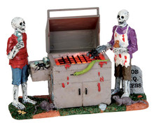 54912 - Gory Grillin', Battery-Operated (4.5v) - Lemax Spooky Town Accessories