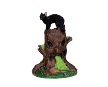54915 - Spooky Woods Tree Stump - Lemax Spooky Town Accessories