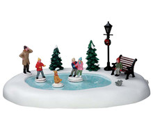54922 - Silly Situation, Battery-Operated (4.5v) - Lemax Christmas Village Table Pieces