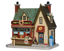 55925 - Tommy's Donuts - Lemax Plymouth Corners Christmas Houses & Buildings