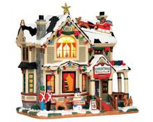 55932 - Christmas Home Tour - Lemax Caddington Village Christmas Houses & Buildings