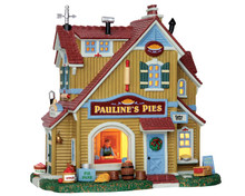55936 - Pauline's Pie Shop - Lemax Harvest Crossing Christmas Houses & Buildings