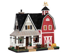 55951 - Farmhouse - Lemax Harvest Crossing Christmas Houses & Buildings