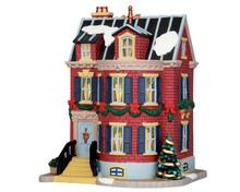 55953 - Stevenson Residence - Lemax Caddington Village Christmas Houses & Buildings