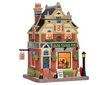 55956 - Glad Tidings Pub - Lemax Caddington Village Christmas Houses & Buildings