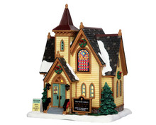 55960 - Church Potluck Supper - Lemax Caddington Village Christmas Houses & Buildings