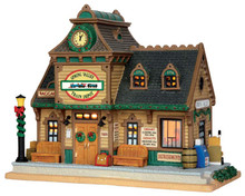 55970 - Spring Valley Depot - Lemax Caddington Village Christmas Houses & Buildings