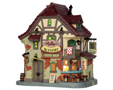 55971 - Valley Winery Cheese Shop - Lemax Caddington Village Christmas Houses & Buildings
