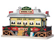 55975 - The Station Dining Car - Lemax Caddington Village Christmas Houses & Buildings