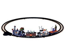 14380 - R.I.P. Railroad, Battery-Operated (4.5 Volts) - Lemax Spooky Town Accessories