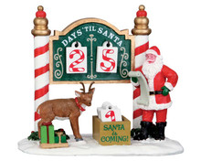 53208 - Christmas Countdown - Lemax Table Pieces