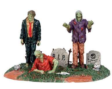 53238 - The Dead Return - Lemax Spooky Town Accessories